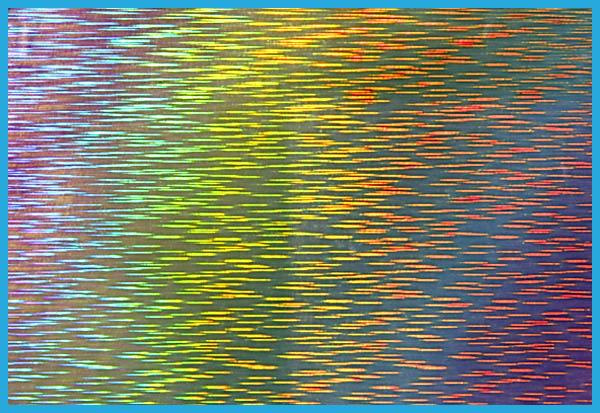 ホログラムの模様1