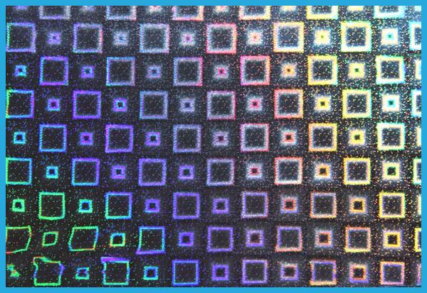 ホログラムの模様5